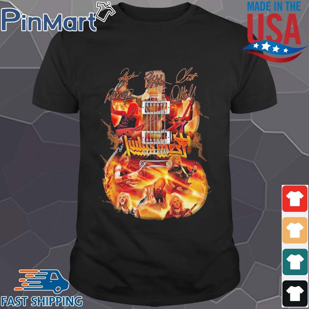 Judas Priest Guitar Signature shirt