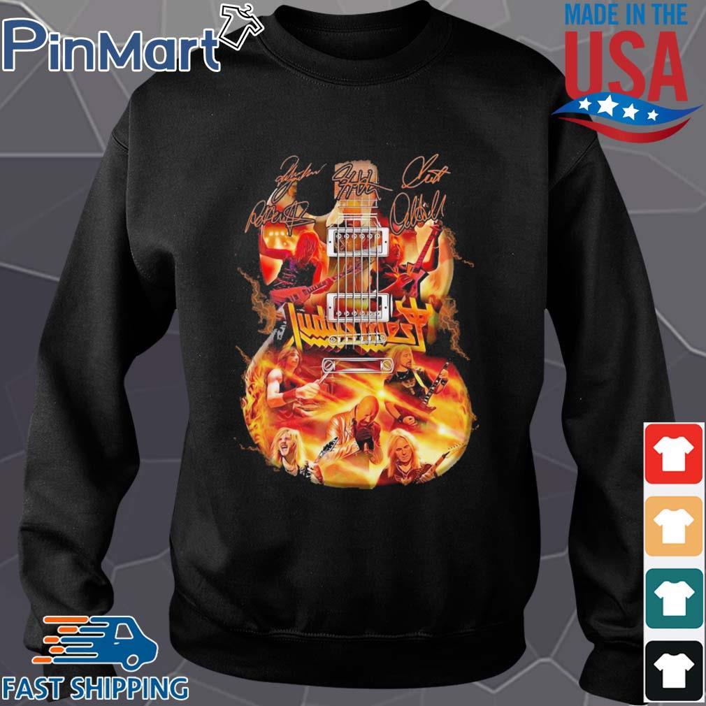 Judas Priest Guitar Signature s Sweater den