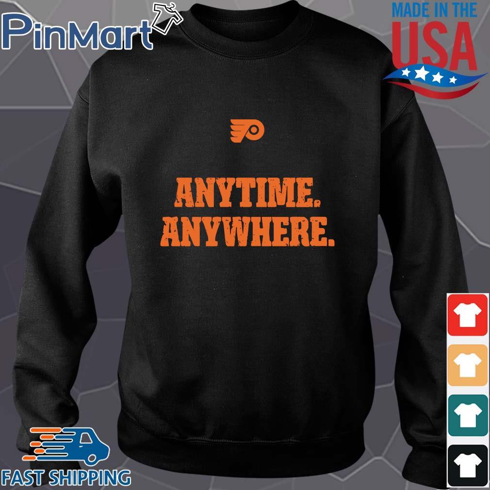 Philadelphia Flyers anytime anywhere s Sweater den