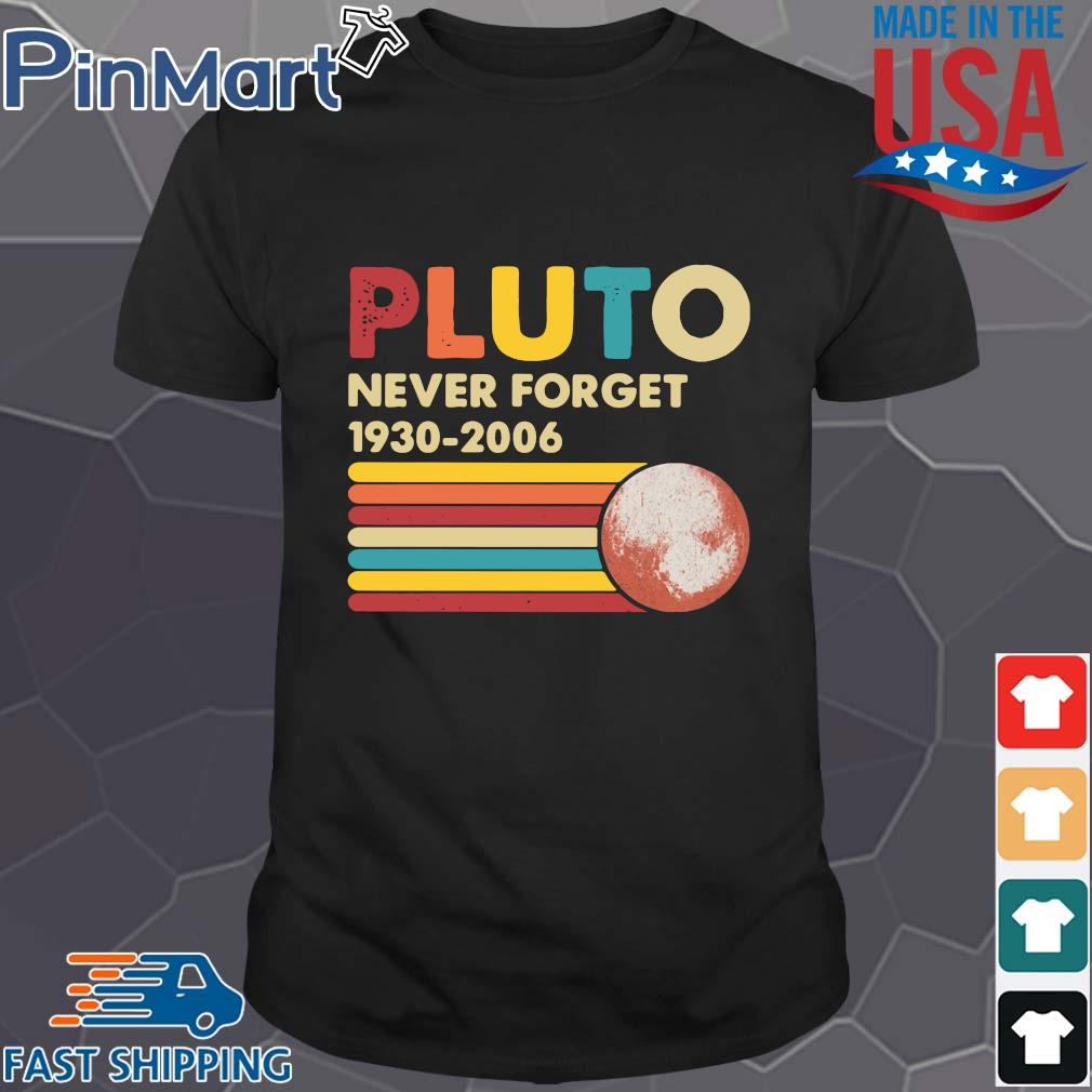 Pluto never forget 1930 2006 vintage shirts