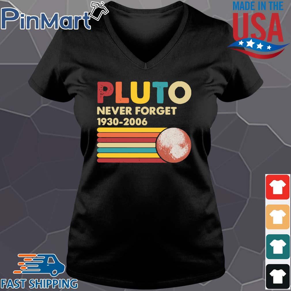 Pluto never forget 1930 2006 vintage shirts Vneck den