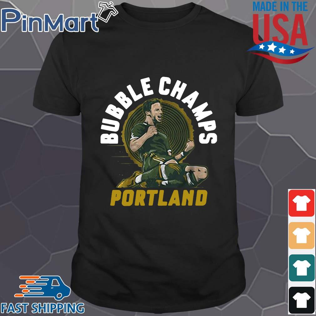 Portland Bubble Champs shirt