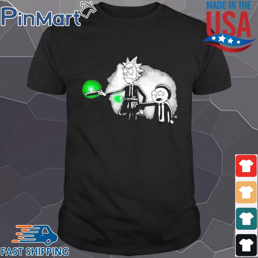 Rick and Morty MIB shirt