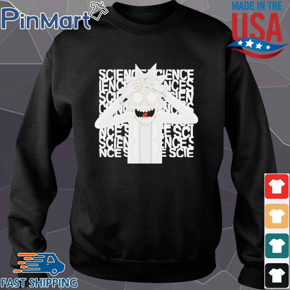 Rick Morty science s Sweater den