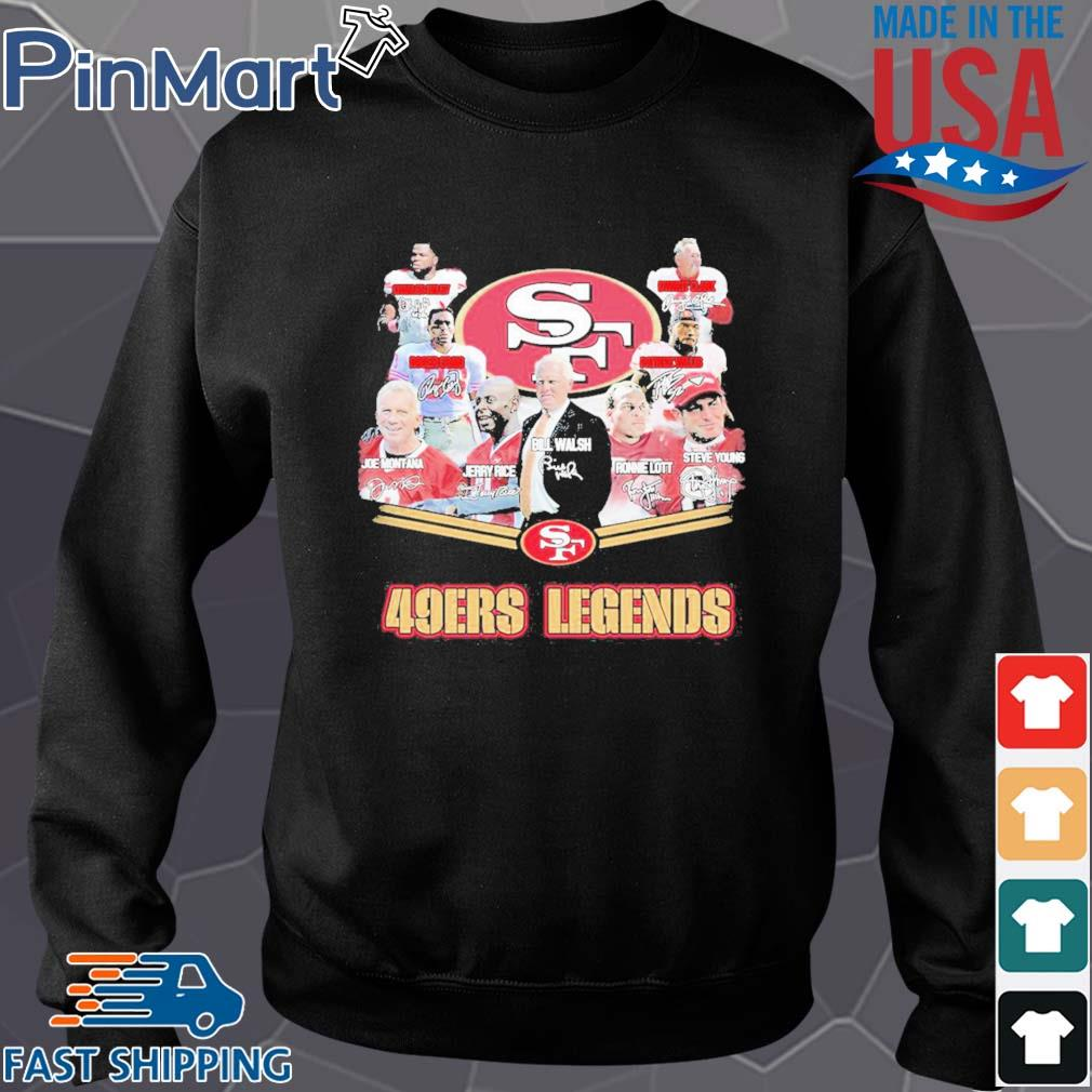 San francisco 49ers legends signatures s Sweater den