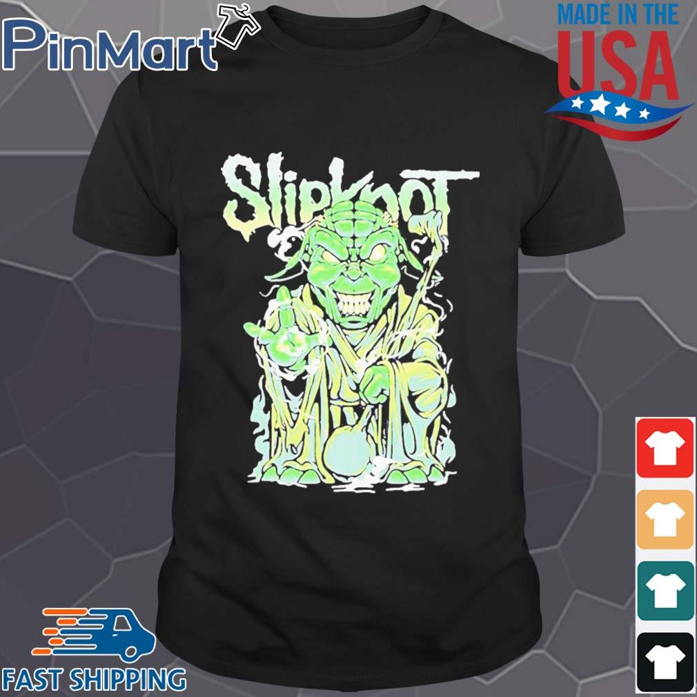 Star wars master yoda slipknot shirt