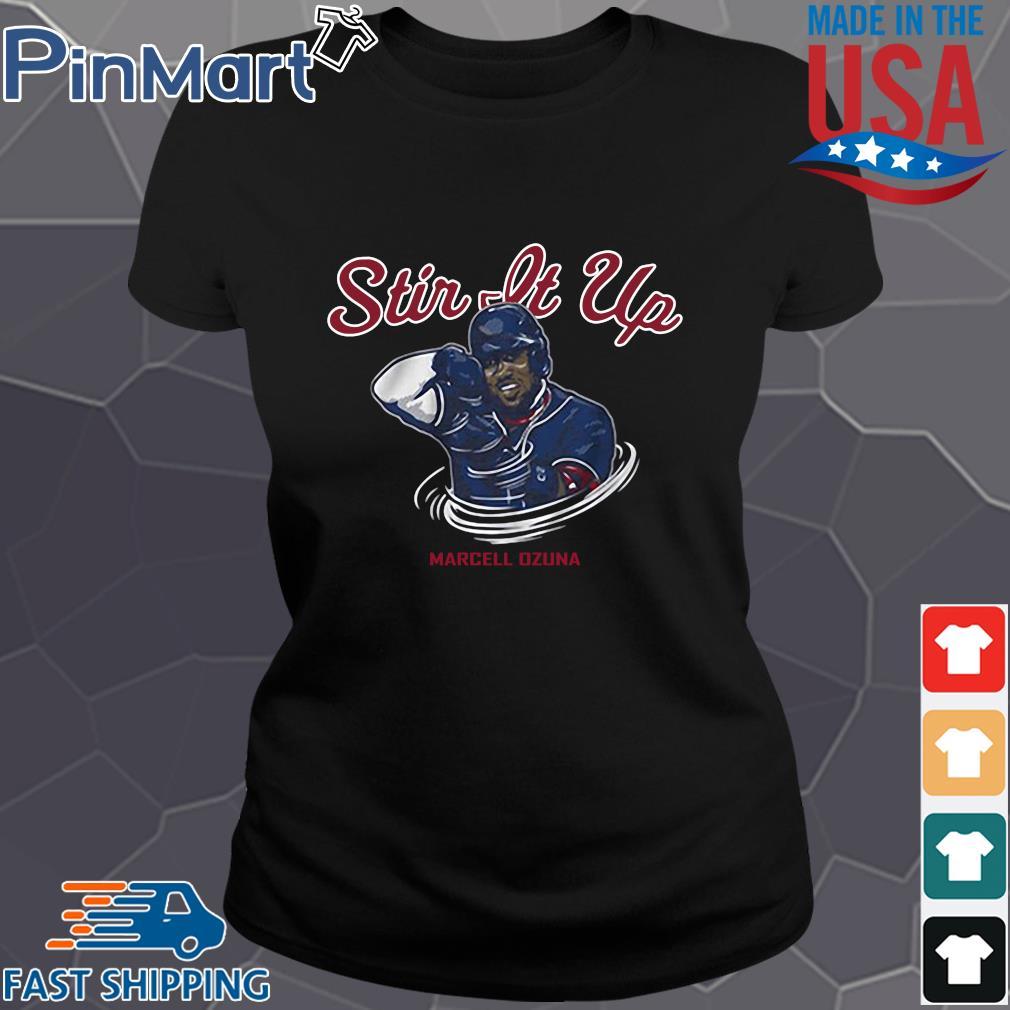 Stir it up Marcell Ozuna Atlanta braves baseball s Ladies den