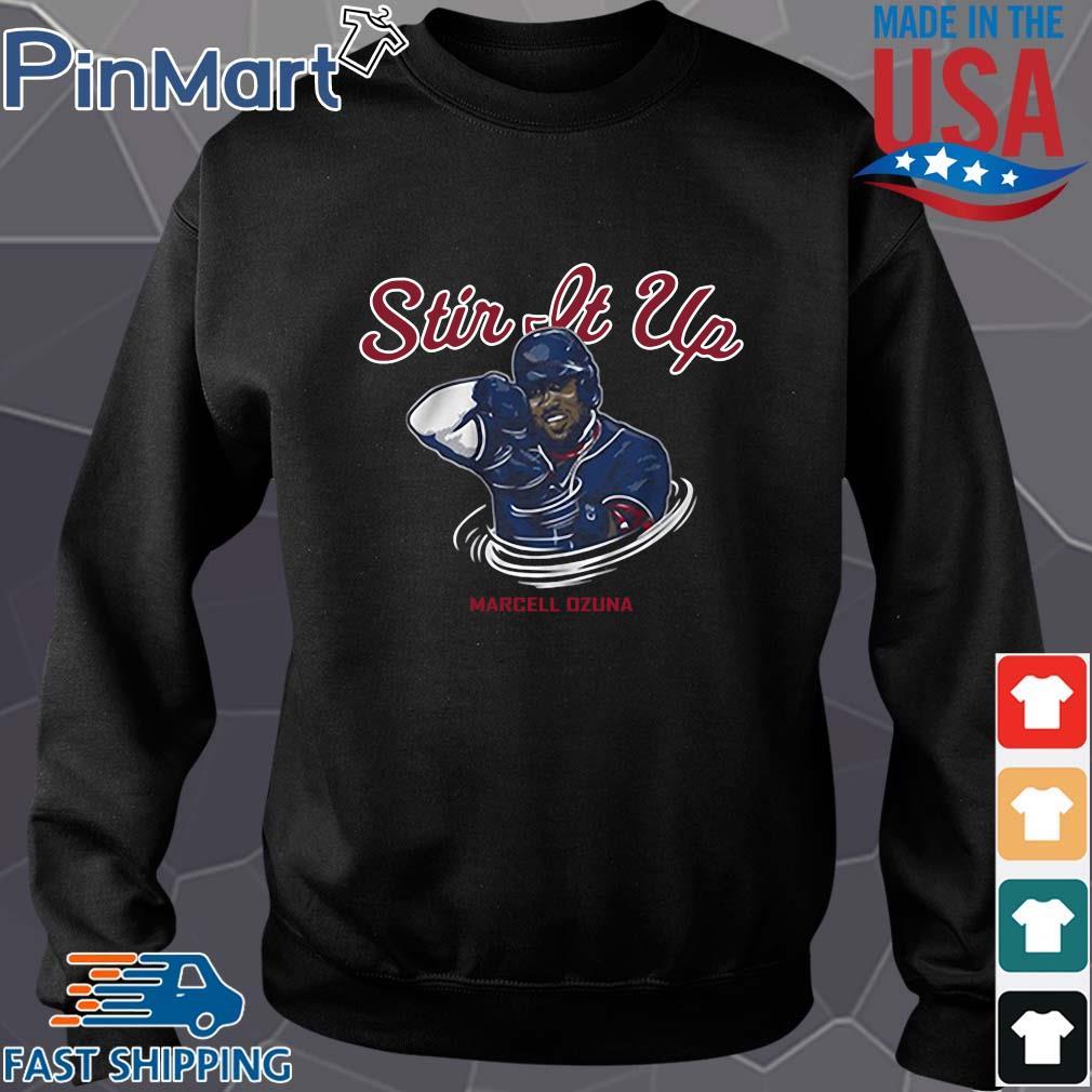 Stir it up Marcell Ozuna Atlanta braves baseball s Sweater den