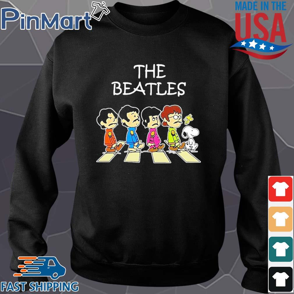 The beatles peanuts abbey road s Sweater den