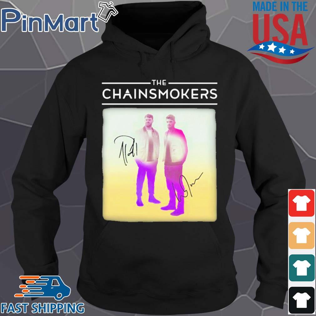The chainsmokers members signatures s Hoodie den