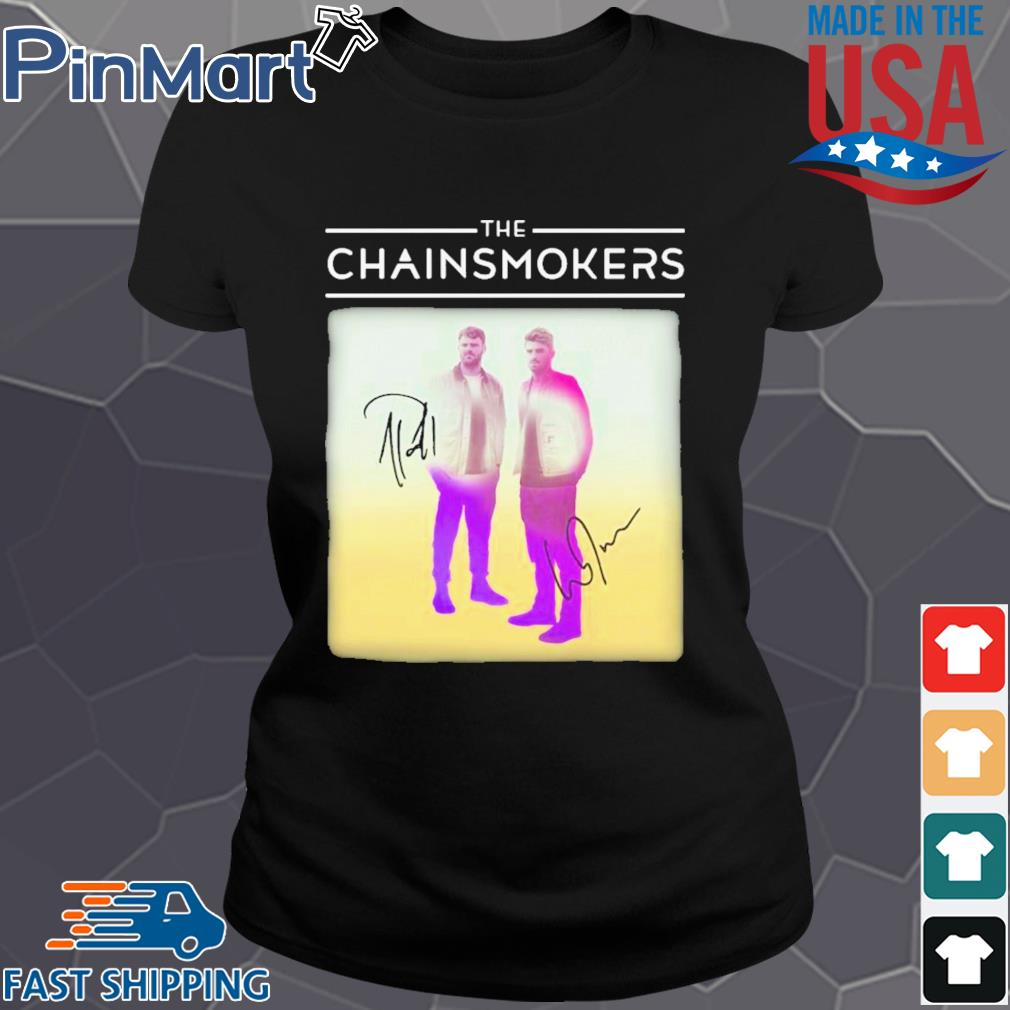 The chainsmokers members signatures s Ladies den