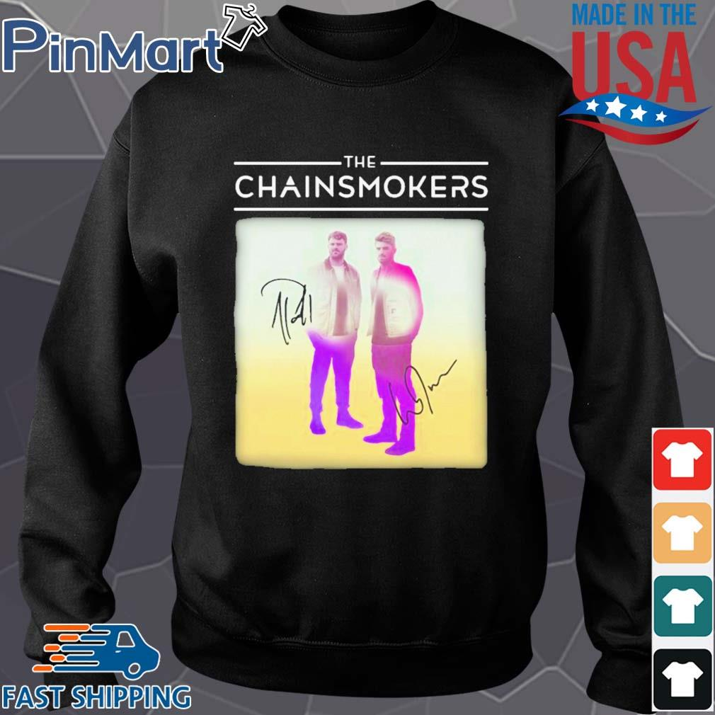 The chainsmokers members signatures s Sweater den
