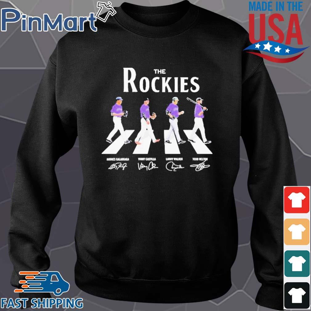 The colorado rockies baseball abbey road signatures s Sweater den