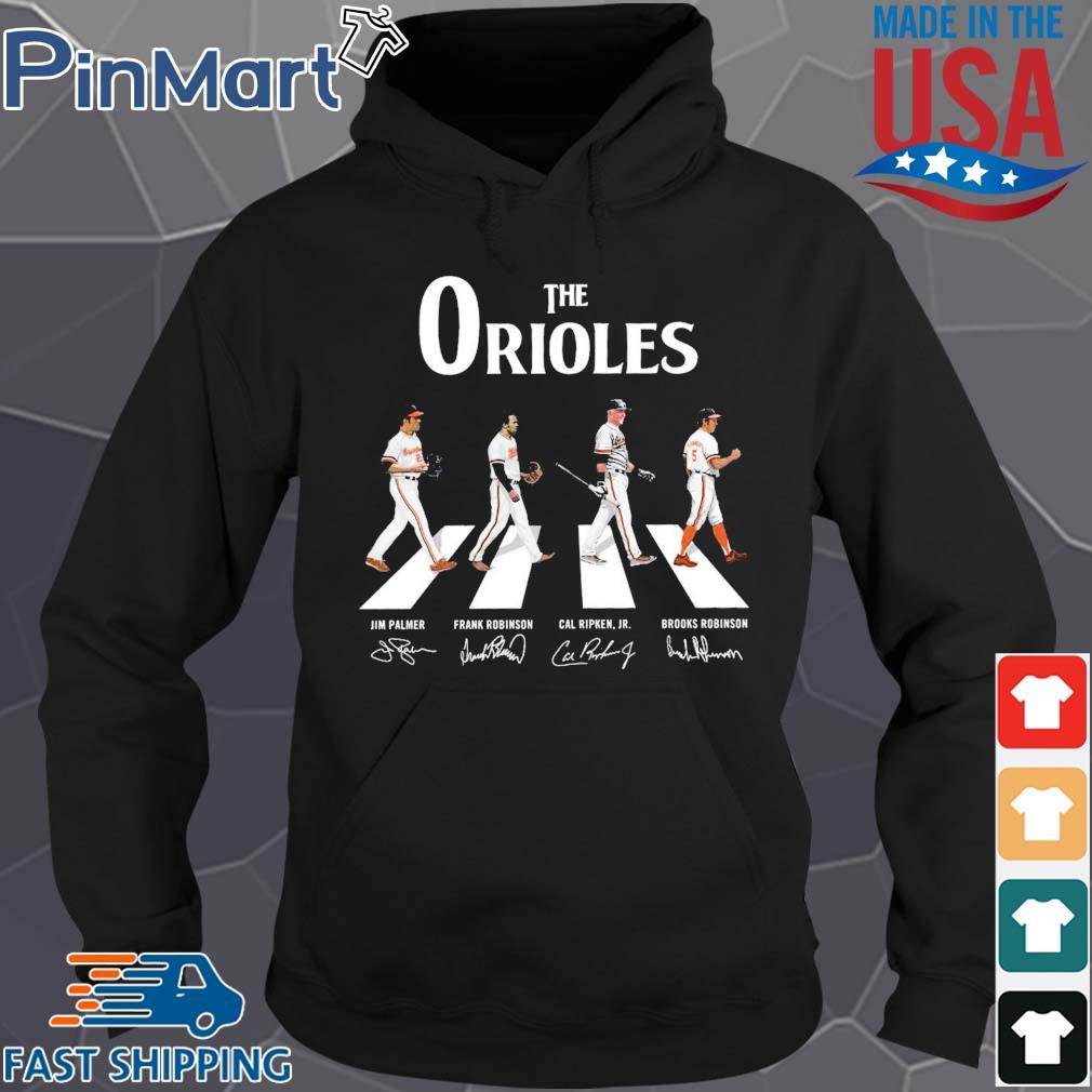 The Orioles walking the abbey road signatures Shirt Hoodie den
