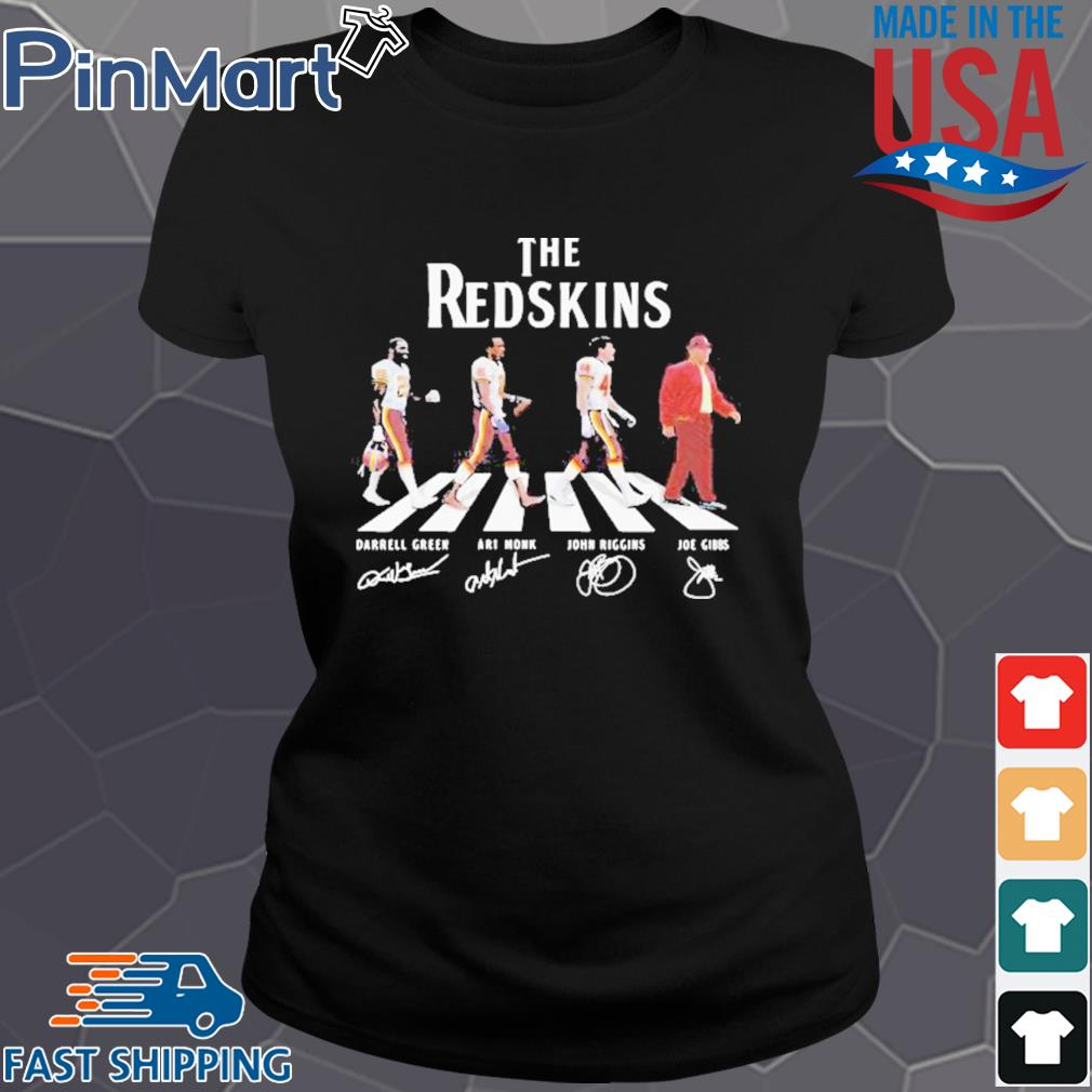 The redskins football abbey road signatures s Ladies den