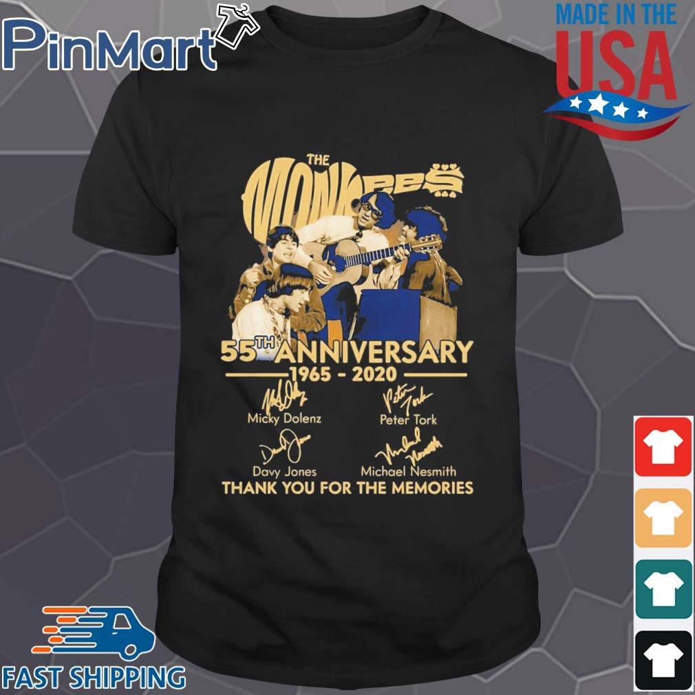 TNT The Monkees 55 Years Anniversary 1965 – 2020 shirt