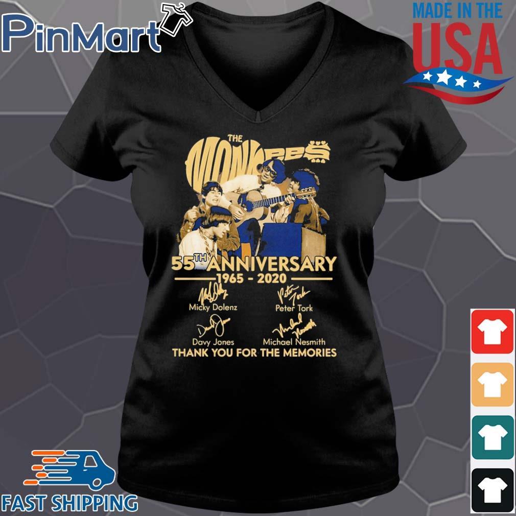 TNT The Monkees 55 Years Anniversary 1965 – 2020 s Vneck den