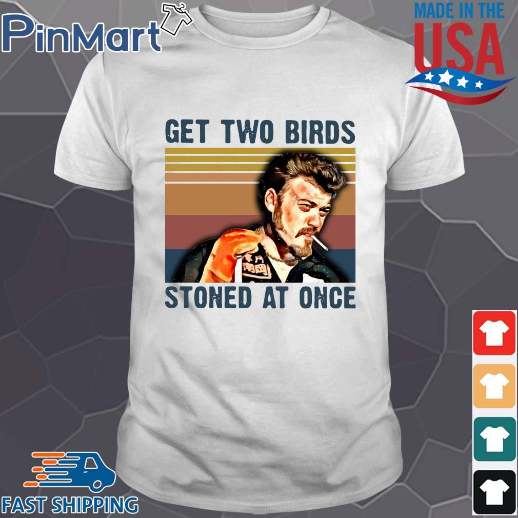Trailer Park Boys get two birds stoned at once vintage shirt