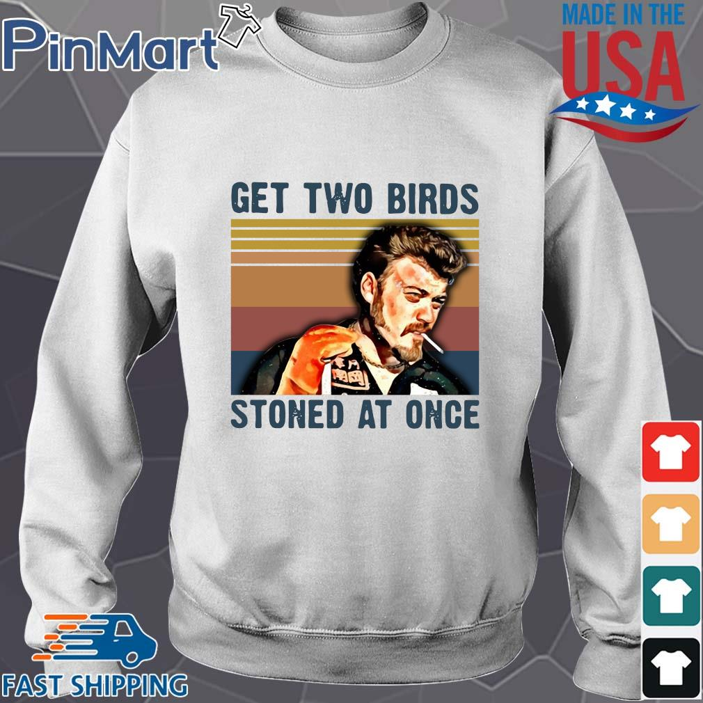 Trailer Park Boys get two birds stoned at once vintage s Sweater trang
