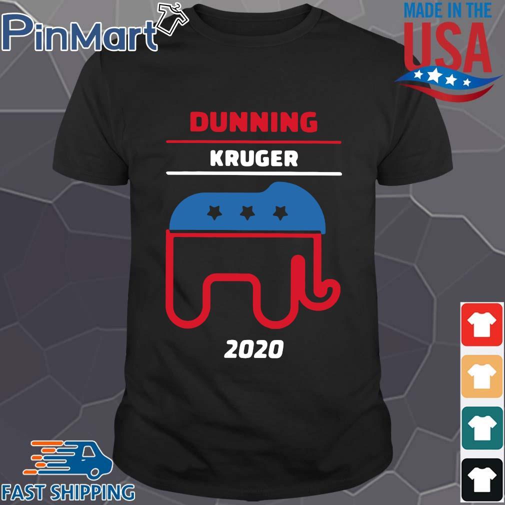 Trump dunning kruger 2020 shirt