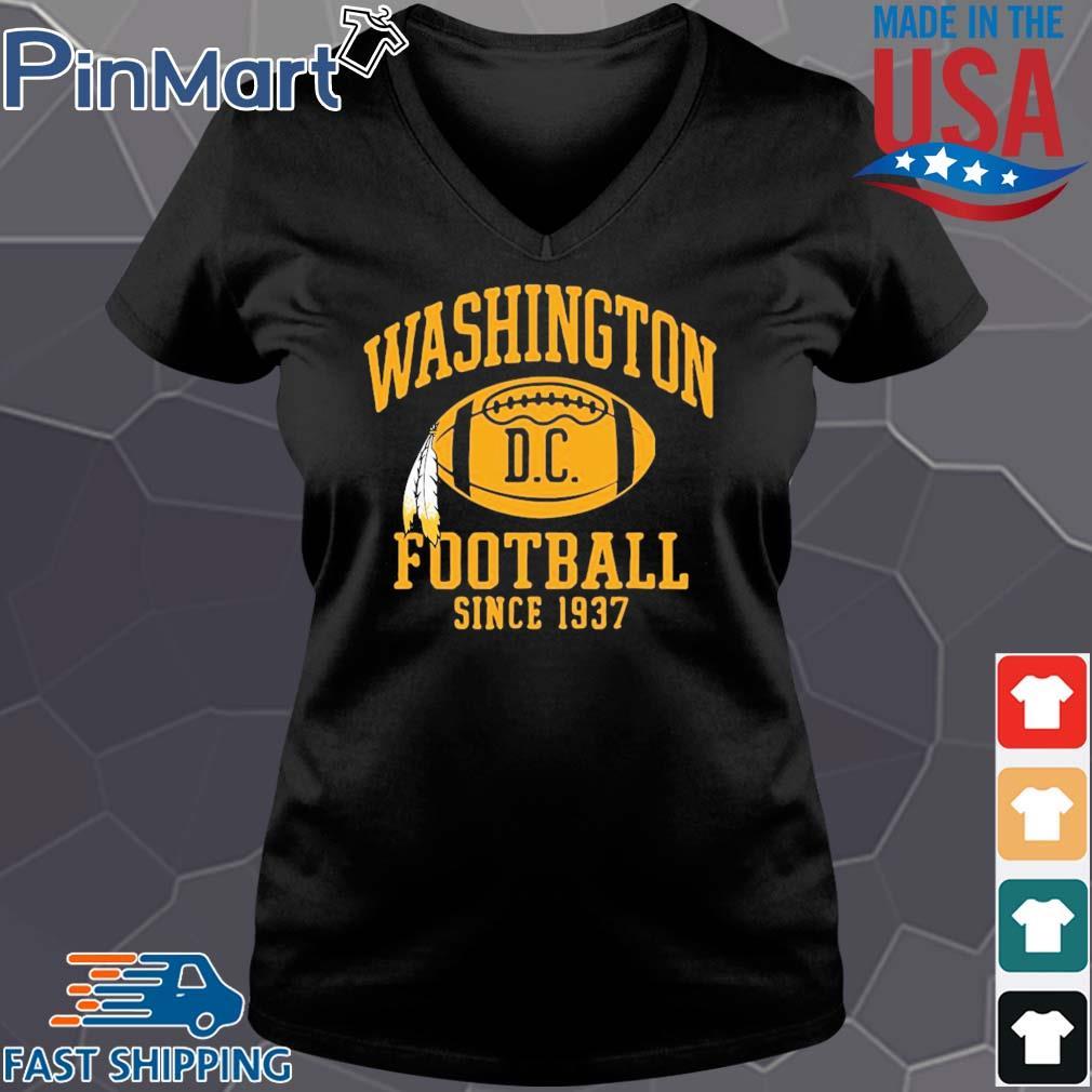 Washington football DC since 1937 s Vneck den