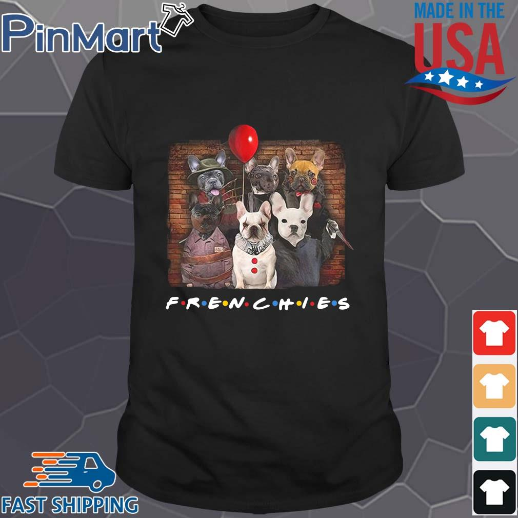 Horror Character dog Frenchies friends Halloween shirt