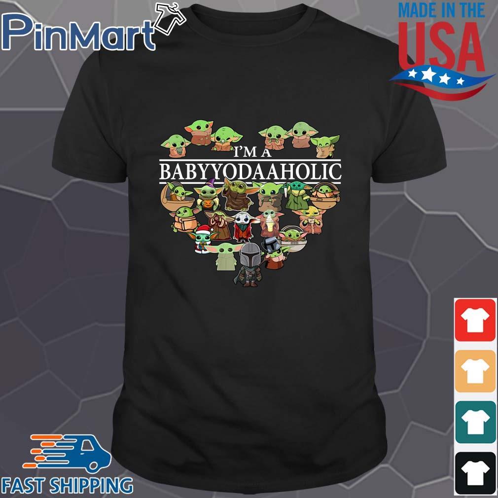 I'm a Baby Yoda Aholic tee shirt
