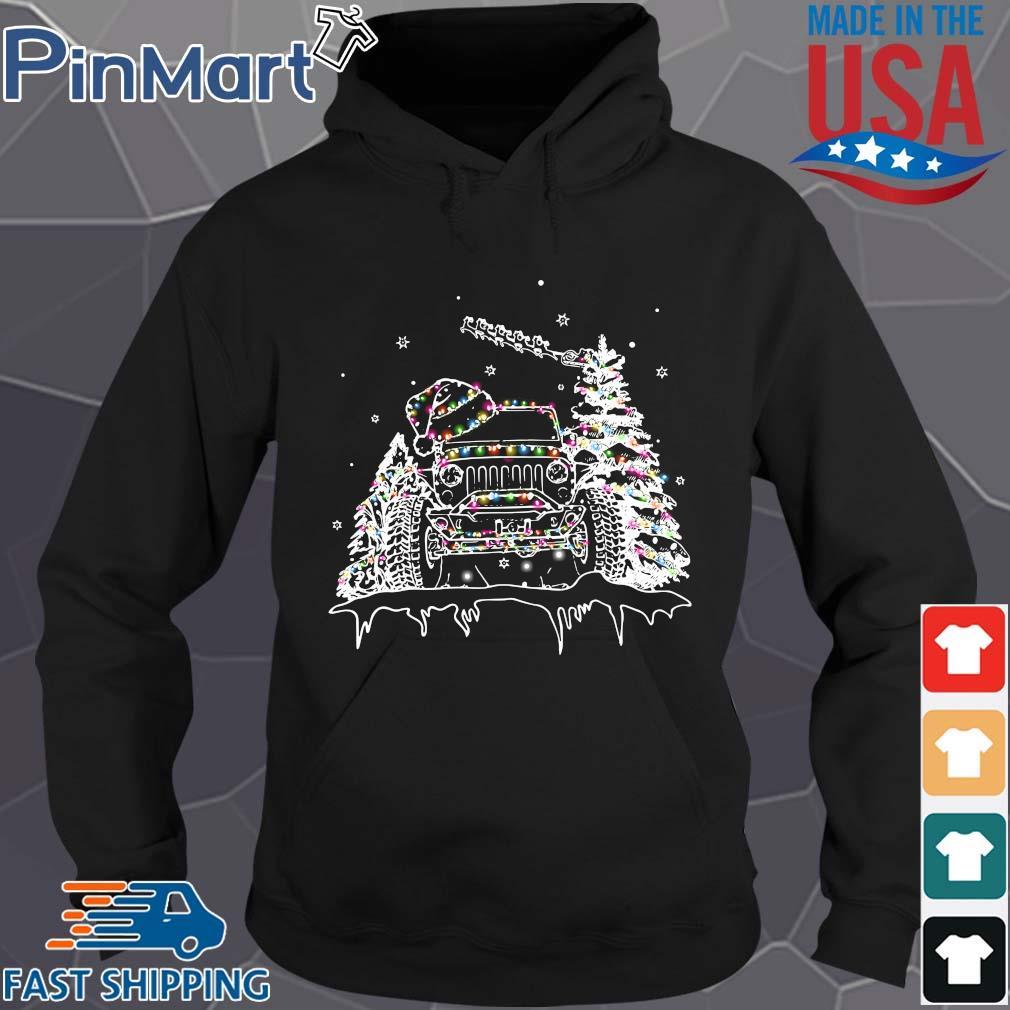 Jeep Christmas light 2020 Shirt Hoodie den