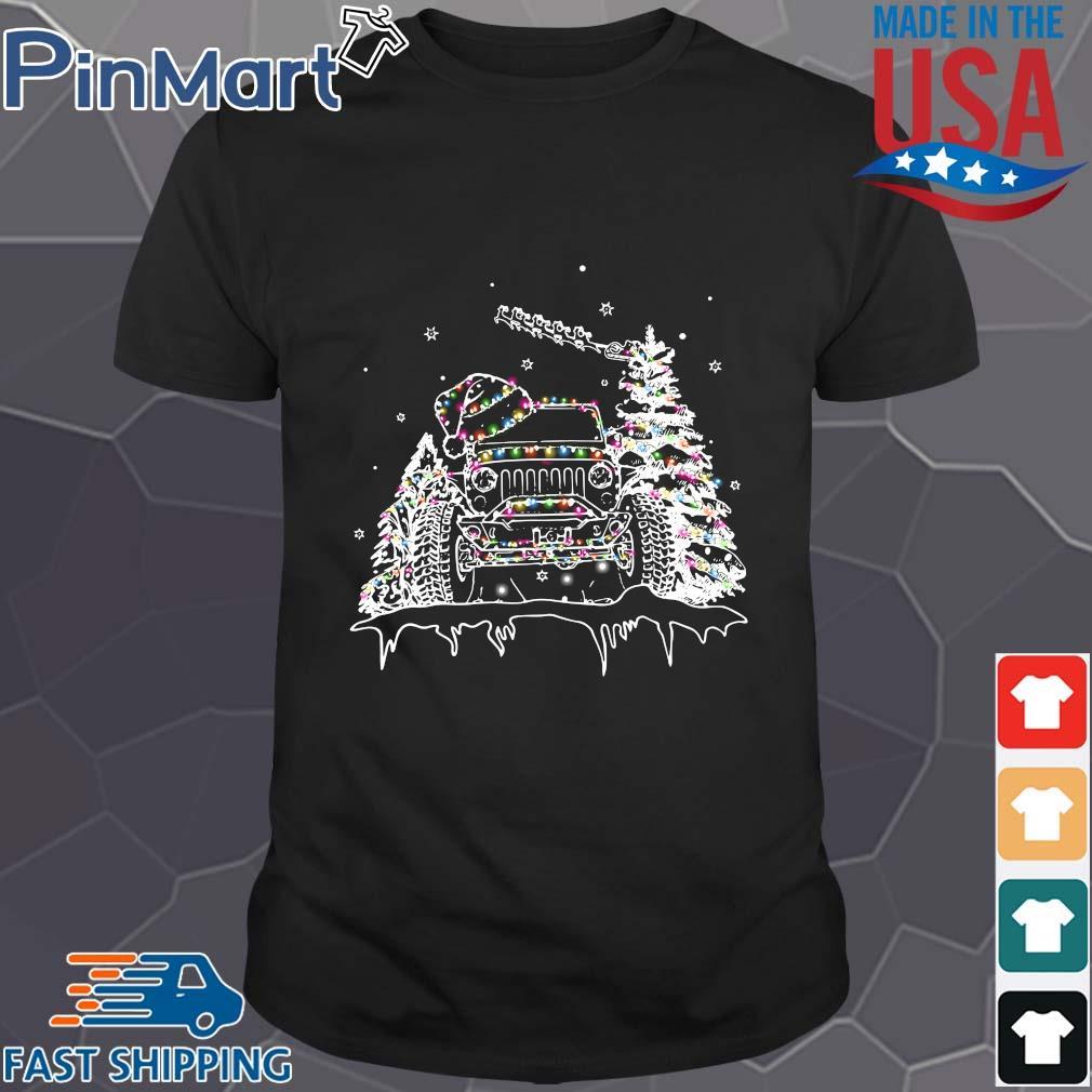 Jeep Christmas light 2020 Shirt
