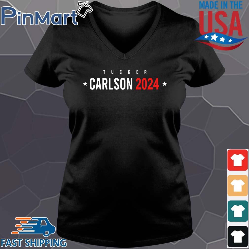 Tucker Carlson 2024 s Vneck den