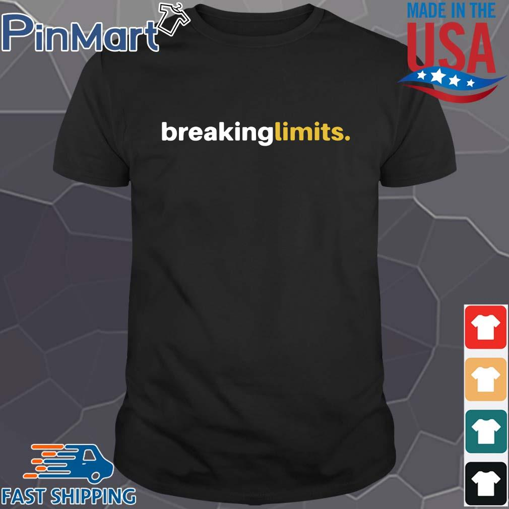 Breaking Limits Sports Running Cyclists Lifestyle Shirt