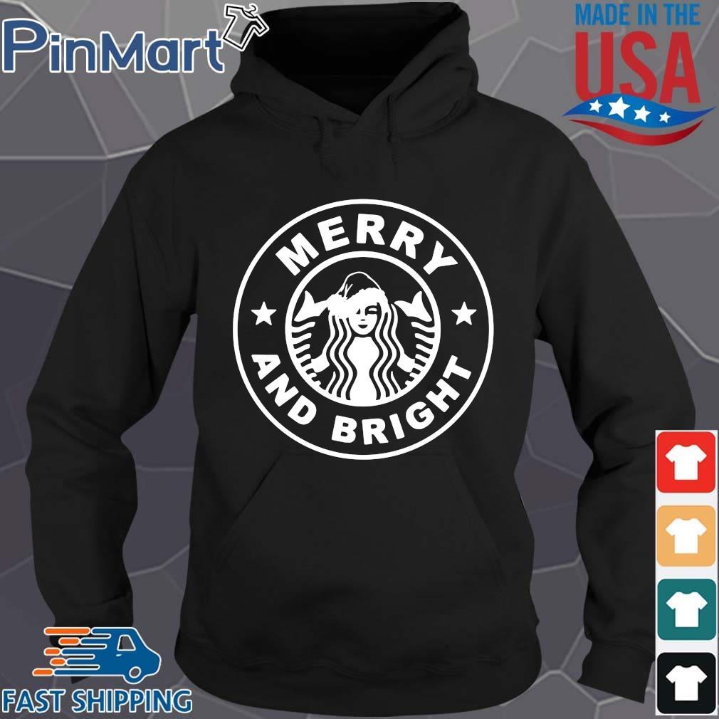 Starbucks Merry And Bright Christmas Sweater Hoodie den