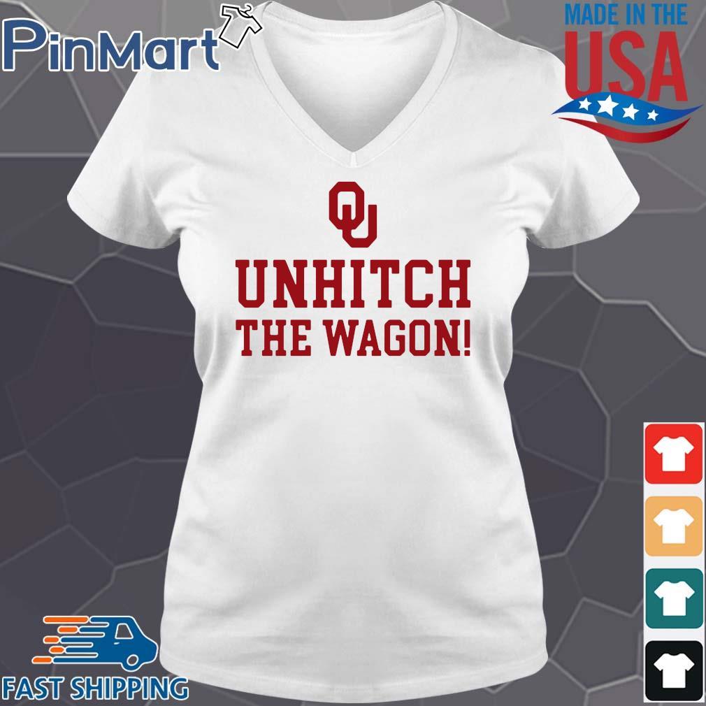 Unhitch The Wagon Shirt V-neck trang