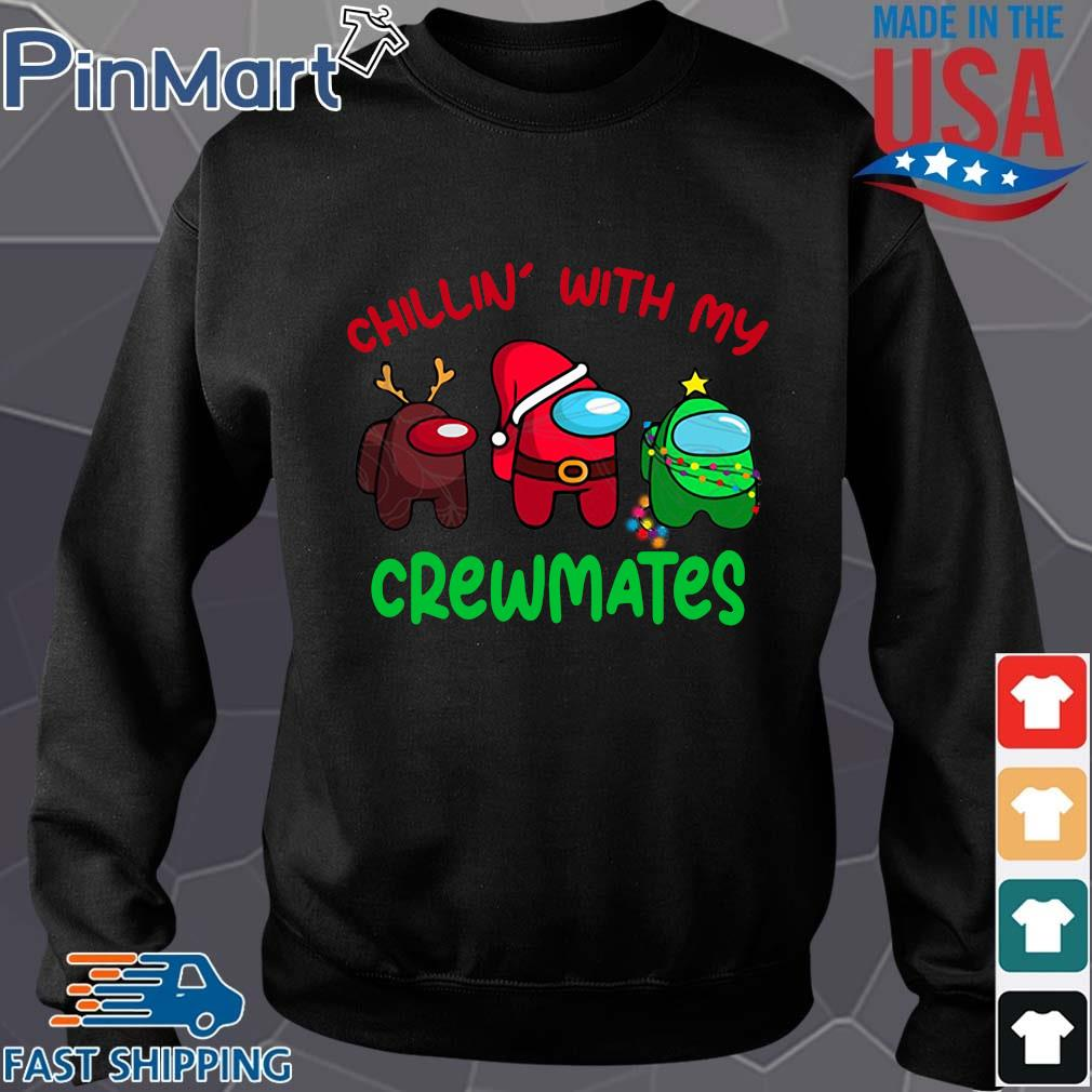 Among Us chillin' with my crewmates Christmas sweater