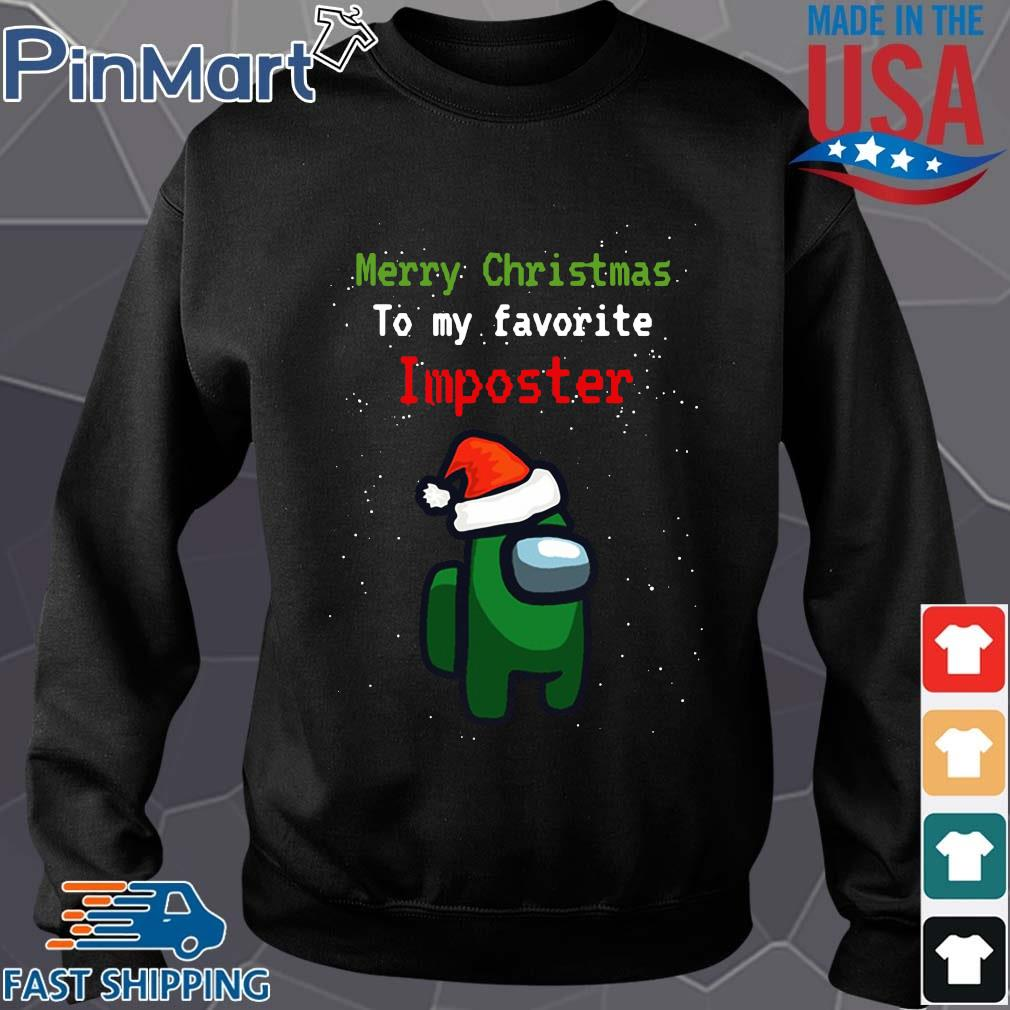 Among Us Merry Christmas to my favorite Imposter Christmas sweater
