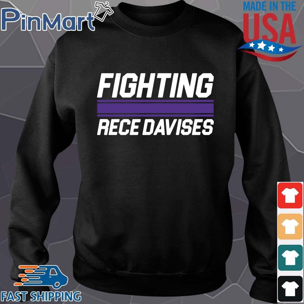 Fighting rece davises shirt