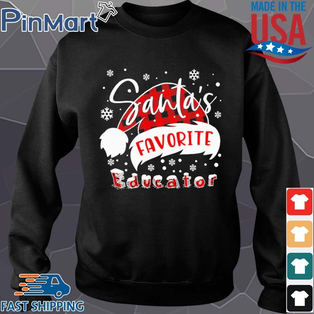 Santa's favorite Educator Christmas sweater