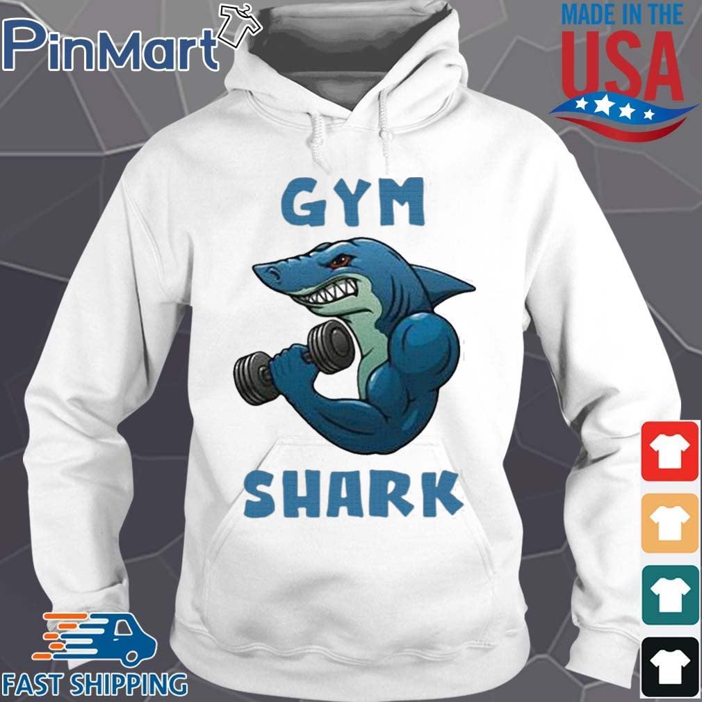 Shark Gym 2020 Shirt Hoodie trang