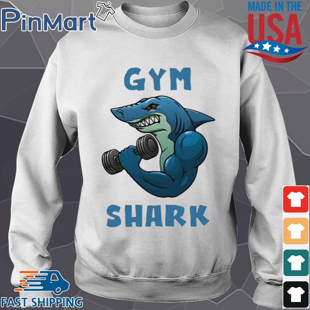 Shark Gym 2020 Shirt Sweater trang