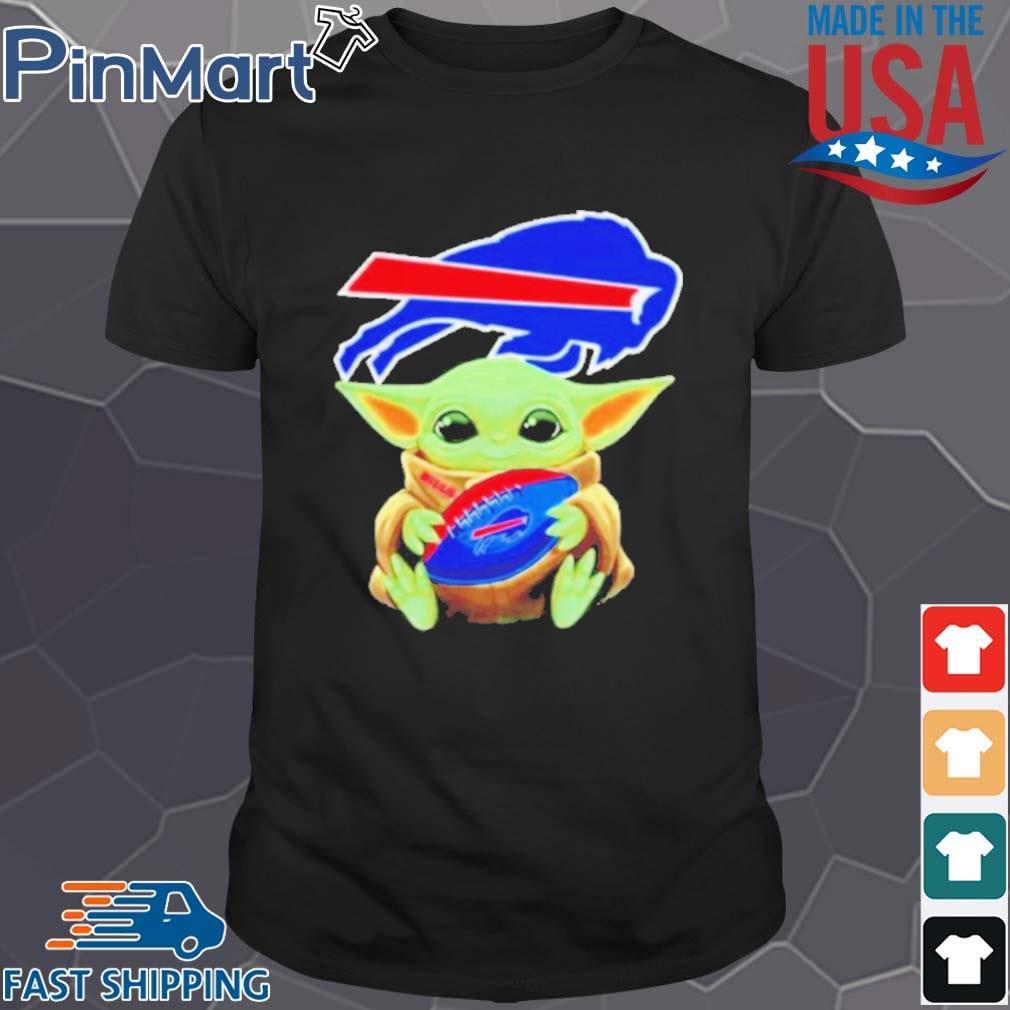 Baby Yoda hug Buffalo Bills s Shirt den