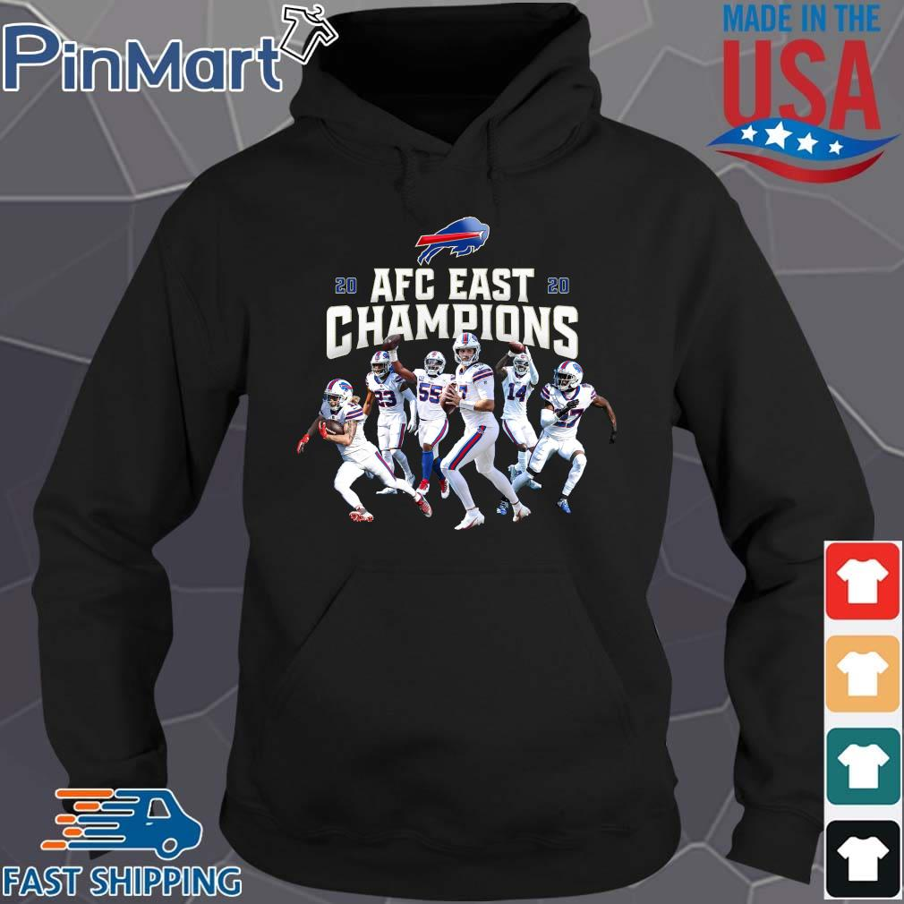 Buffalo Bills Players 2020 AFC East Champions s Hoodie den