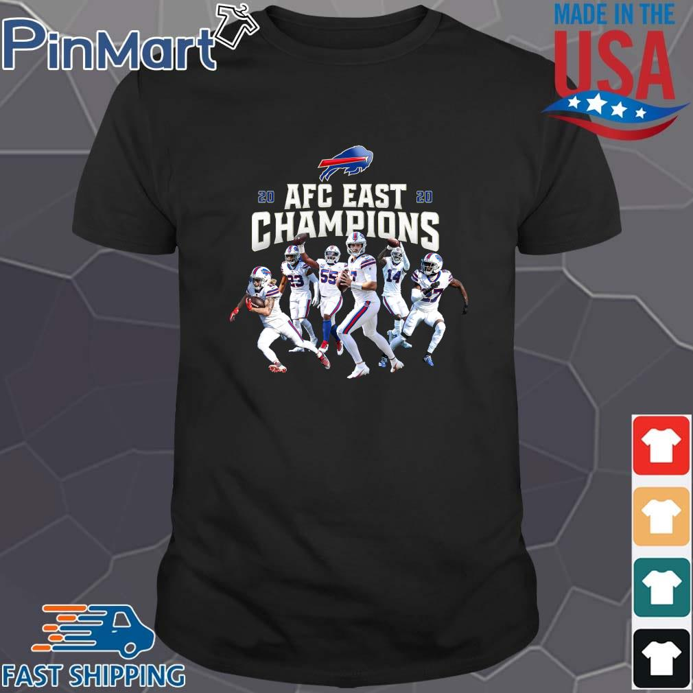 Buffalo Bills Players 2020 AFC East Champions s Shirt den