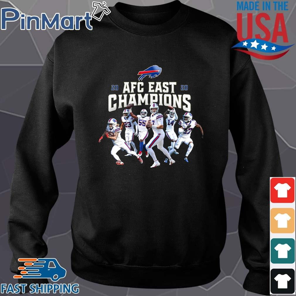 Buffalo Bills Players 2020 AFC East Champions shirt
